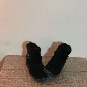 Bare Trap Ankle Boots Sz 9 Black